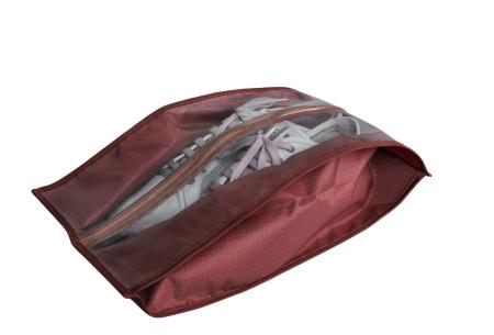 Schoenenorganizer hoezen | De ideale opberghoezen voor sneakers en laarzen wijnrood - sneakers