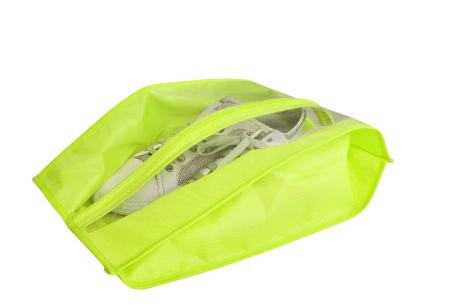 Schoenenorganizer hoezen | De ideale opberghoezen voor sneakers en laarzen lime - sneakers