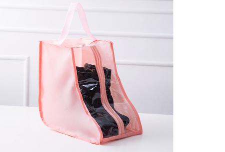 Schoenenorganizer hoezen | De ideale opberghoezen voor sneakers en laarzen roze - laarzen