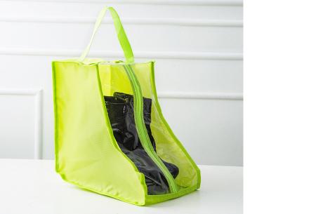 Schoenenorganizer hoezen | De ideale opberghoezen voor sneakers en laarzen lime - laarzen