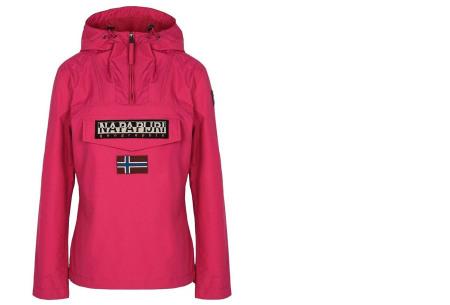 Napapijri jas voor dames en heren | De ideale outdoorjas - Zomer- en wintermodellen ♀ fuchsia zomer