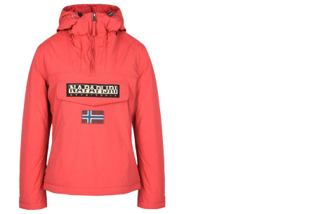 Napapijri jas voor dames en heren | De ideale outdoorjas - Zomer- en wintermodellen ♀ sparkling red winter