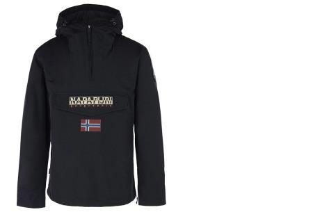 Napapijri jas voor dames en heren | De ideale outdoorjas - Zomer- en wintermodellen ♂ zwart zomer