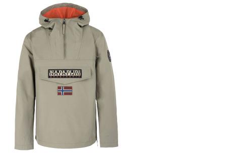 Napapijri jas voor dames en heren | De ideale outdoorjas - Zomer- en wintermodellen ♂ khaki zomer