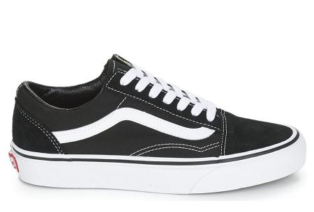 Vans schoenen nu heel voordelig | Klassiek Old Skool model in 2 kleuren zwart/wit