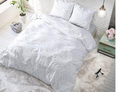 Hotelkwaliteit dekbedovertrekken van Sleeptime | Keuze uit 3 formaten  stipple