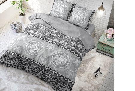 Hotelkwaliteit dekbedovertrekken van Sleeptime | Keuze uit 3 formaten  woolly
