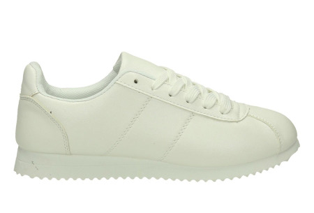 Casual damessneakers | Comfortabele sneakers met een trendy tijdloos design wit