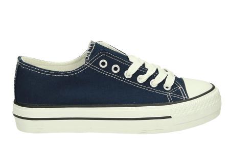 Classic gympen | Klassieke damessneakers - musthave voor je schoenencollectie donkerblauw