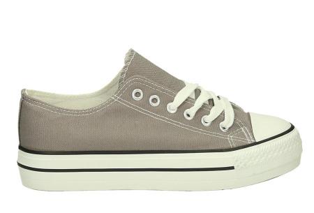 Classic gympen | Klassieke damessneakers - musthave voor je schoenencollectie grijs