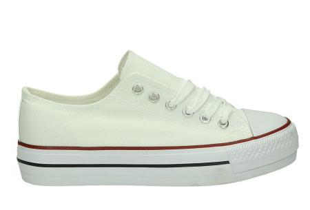 Classic gympen | Klassieke damessneakers - musthave voor je schoenencollectie wit