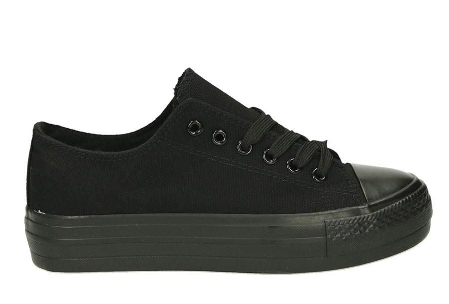 Classic gympen Maat 37 - Zwart/zwart