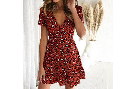 Panterprint jurkje | Musthave jurk voor deze zomer