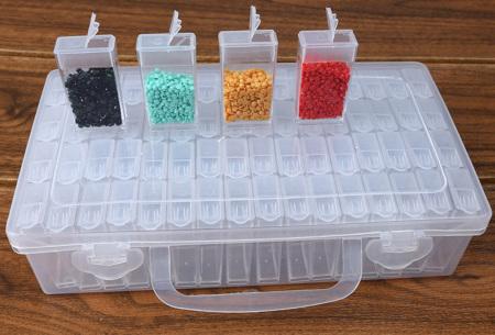 Diamond painting accessoires | Alle handige tools voor de mooiste creaties Box - 64 bakjes