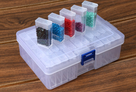Diamond Painting accessoires | Alle handige tools voor de mooiste creaties Box - 42 bakjes