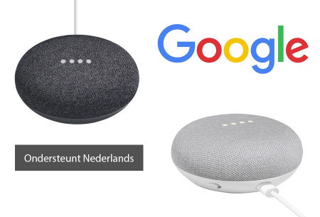Google home mini - assistant nu in de aanbieding