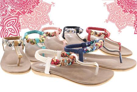 Boho Ibiza slippers nu extreem goedkoop