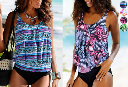 Pattern bikini