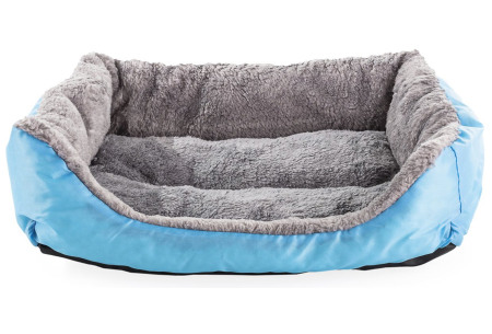 Waterproof hondenmand   Zacht en duurzaam hondenkussen - geschikt voor de wasmachine blauw