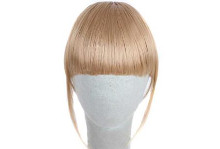 Pony haarextension | Een nieuwe haarstijl in een handomdraai! #27