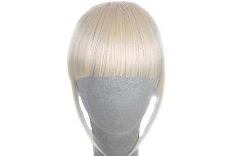 Pony haarextension | Een nieuwe haarstijl in een handomdraai! #613