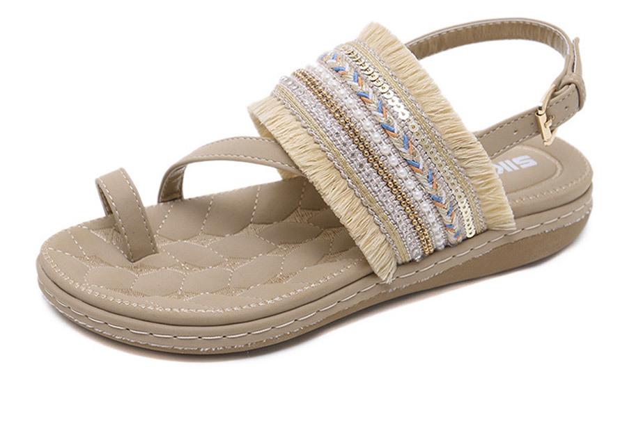 Summer Vibe slippers Maat 40 - Beige
