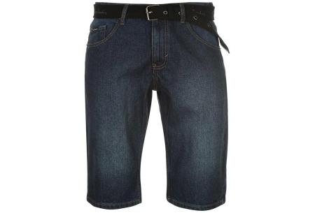 Pierre Cardin korte broeken | Heren shorts van 100% katoen - Nu nóg goedkoper! Jeans dark