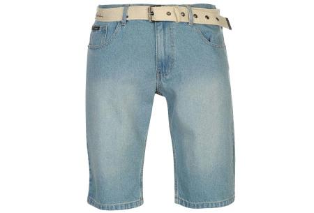Pierre Cardin korte broeken | Heren shorts van 100% katoen - Nu nóg goedkoper! Jeans light