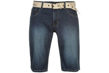 Pierre Cardin korte broeken | Heren shorts van 100% katoen - Nu nóg goedkoper! Jeans medium