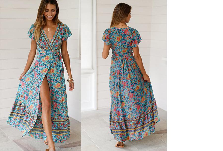 46294c71bfccce Maxi jurk voor dames