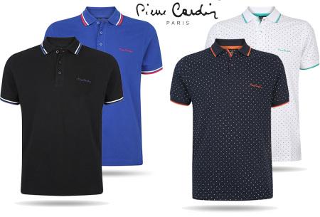 Poloshirts van Pierre cardin nu in de aanbieding