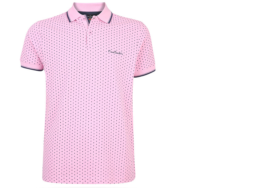 Pierre Cardin Polo FA20801 - FA206708 Maat XL - Roze - Model stip