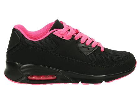 Next Air sneakers   Dames schoenen met ultieme demping en draagcomfort  Zwart/Roze