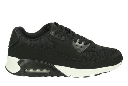 Next Air sneakers   Dames schoenen met ultieme demping en draagcomfort  Zwart/Wit