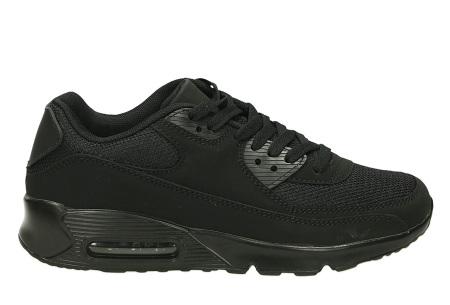 Next Air sneakers   Dames schoenen met ultieme demping en draagcomfort  Zwart/Zwart