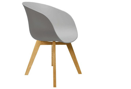 Fjord stoelen | Moderne & comfortabele kuipstoelen voor een trendy interieur grijs