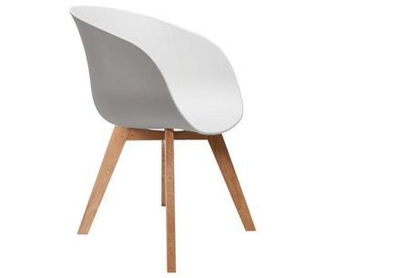 Fjord stoelen | Moderne & comfortabele kuipstoelen voor een trendy interieur wit
