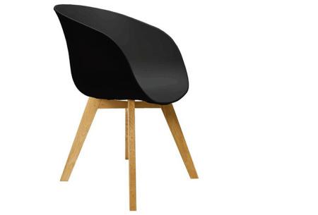 Fjord stoelen | Moderne & comfortabele kuipstoelen voor een trendy interieur zwart