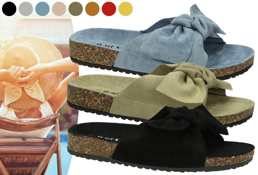 Suède look slippers met strik in de aanbieding <br/>EUR 14.99 <br/> <a href='https://tc.tradetracker.net/?c=24550&m=1018105&a=230468&u=https%3A%2F%2Fwww.vouchervandaag.nl%2Fsuede-look-slippers-met-strik' target='_blank'>bekijk product</a>