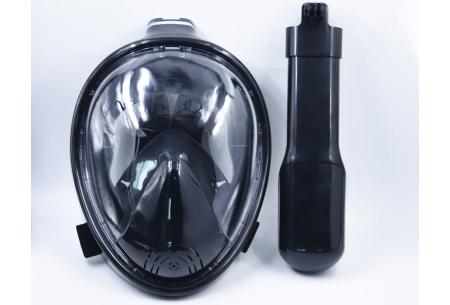 Snorkelmasker met aansluiting voor GoPro | Comfortabel ademen onder water