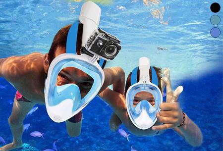 Snorkelmasker met korting in de aanbieding