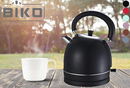 Retro waterkoker Biko | Esthetisch design met 1,8 liter inhoud