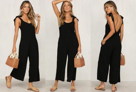 Zomerse jumpsuit   Luchtig, comfortabel & trendy broekpak voor dames
