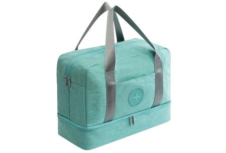 Handbagage reistas | Handig en stijlvol op reis! Blauw