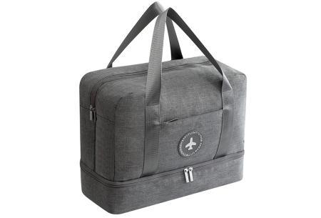 Handbagage reistas | Handig en stijlvol op reis! Grijs