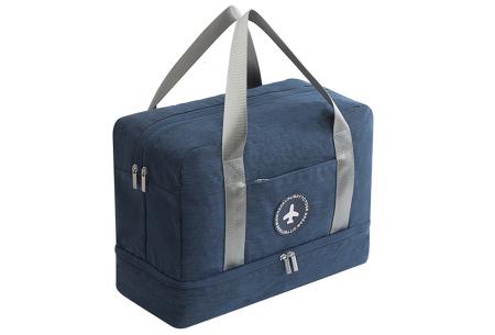 Handbagage reistas | Handig en stijlvol op reis! Navy