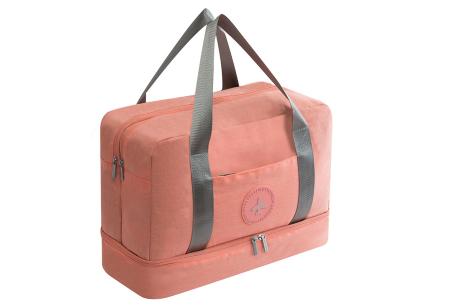 Handbagage reistas | Handig en stijlvol op reis! Roze