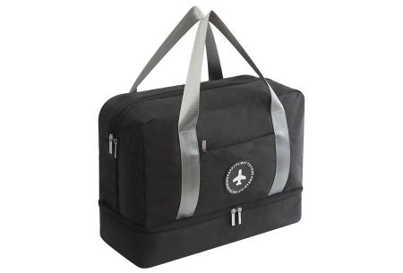 Handbagage reistas | Handig en stijlvol op reis! Zwart