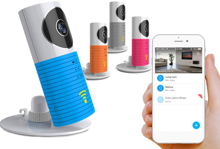 Smart Wifi security camera met night vision | Houd alles in gaten via je telefoon