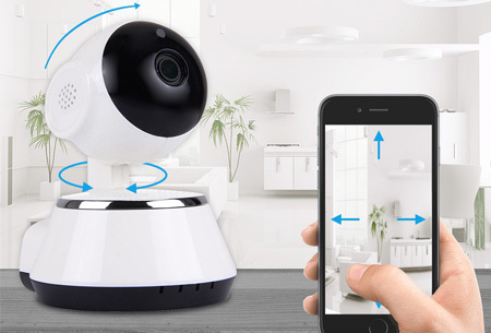 Smart WiFi IP camera nu met hoge korting <br/>EUR 39.99 <br/> <a href='https://tc.tradetracker.net/?c=24550&m=1018120&a=321771&u=https%3A%2F%2Fwww.vouchervandaag.nl%2Fsmart-wifi-security-ip-camera-beveiliging-micro-sd-kaart-32gb' target='_blank'>Bekijk de Deal</a>